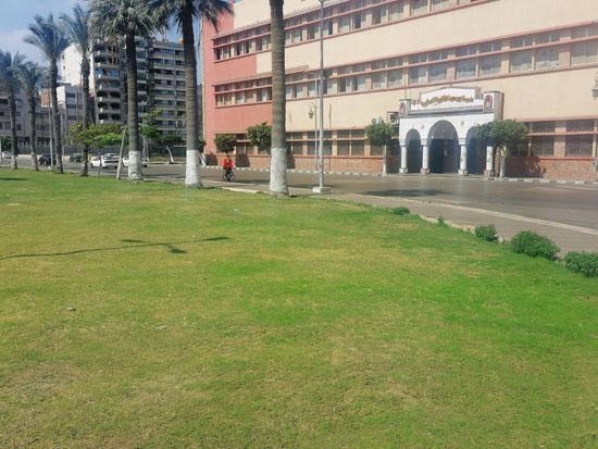 إغلاق-حديقة-المسله-ببورسعيد