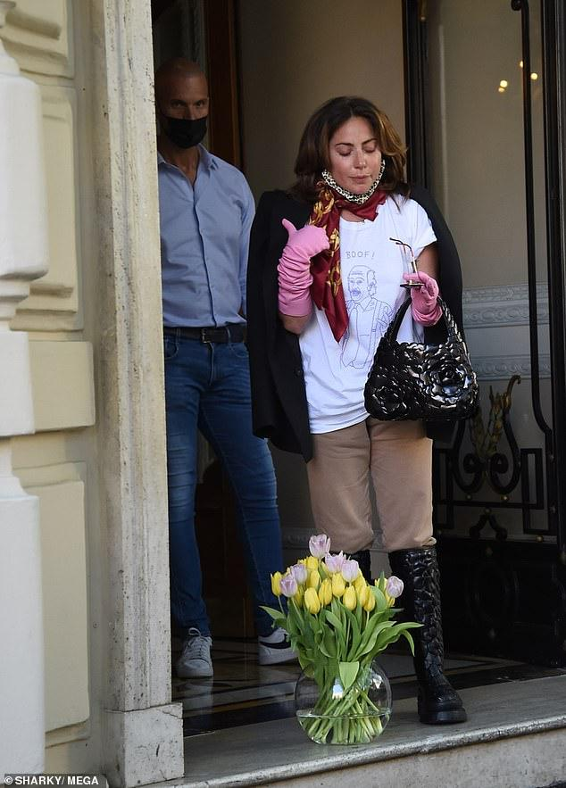 ليدي جاجا تنتهي من تصوير House Of Gucci