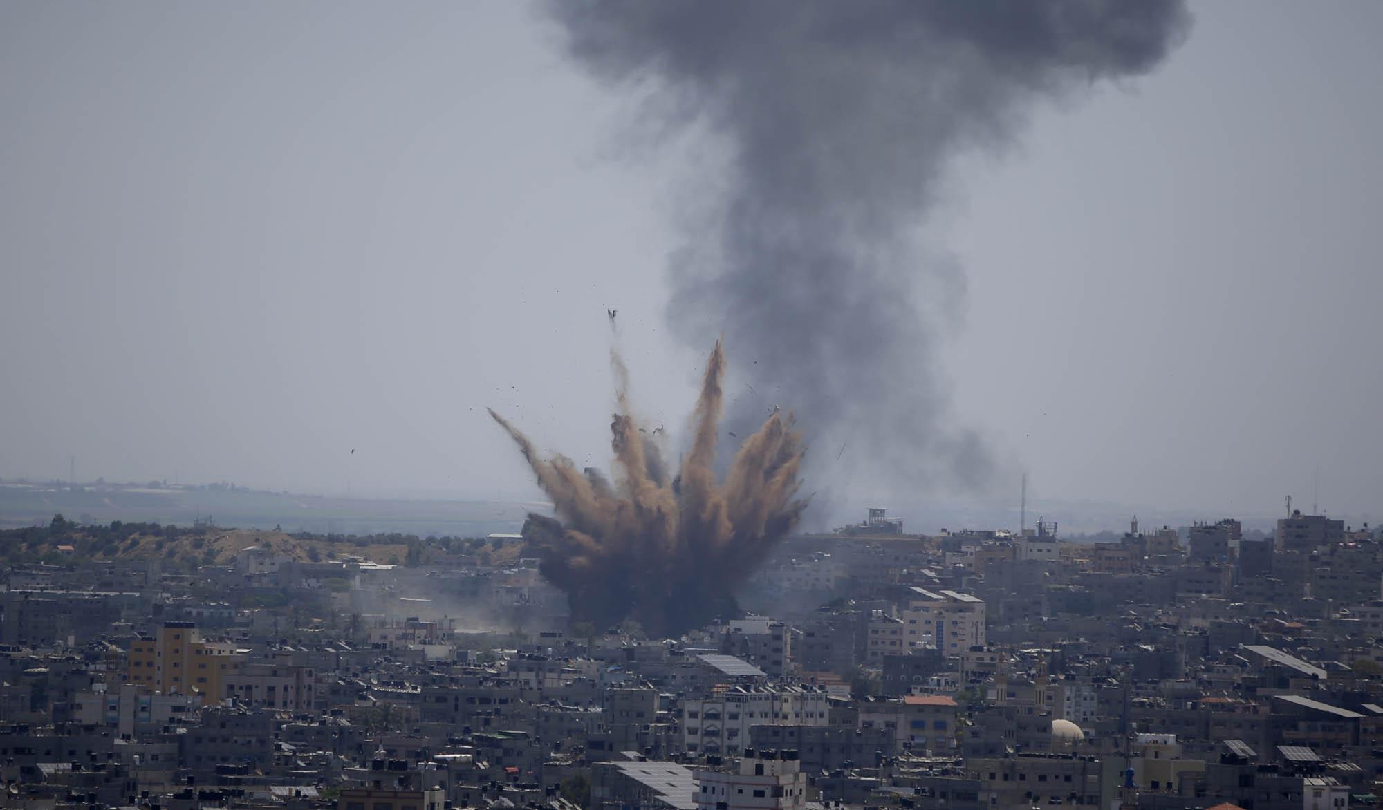 غارات الاحتلال على غزة