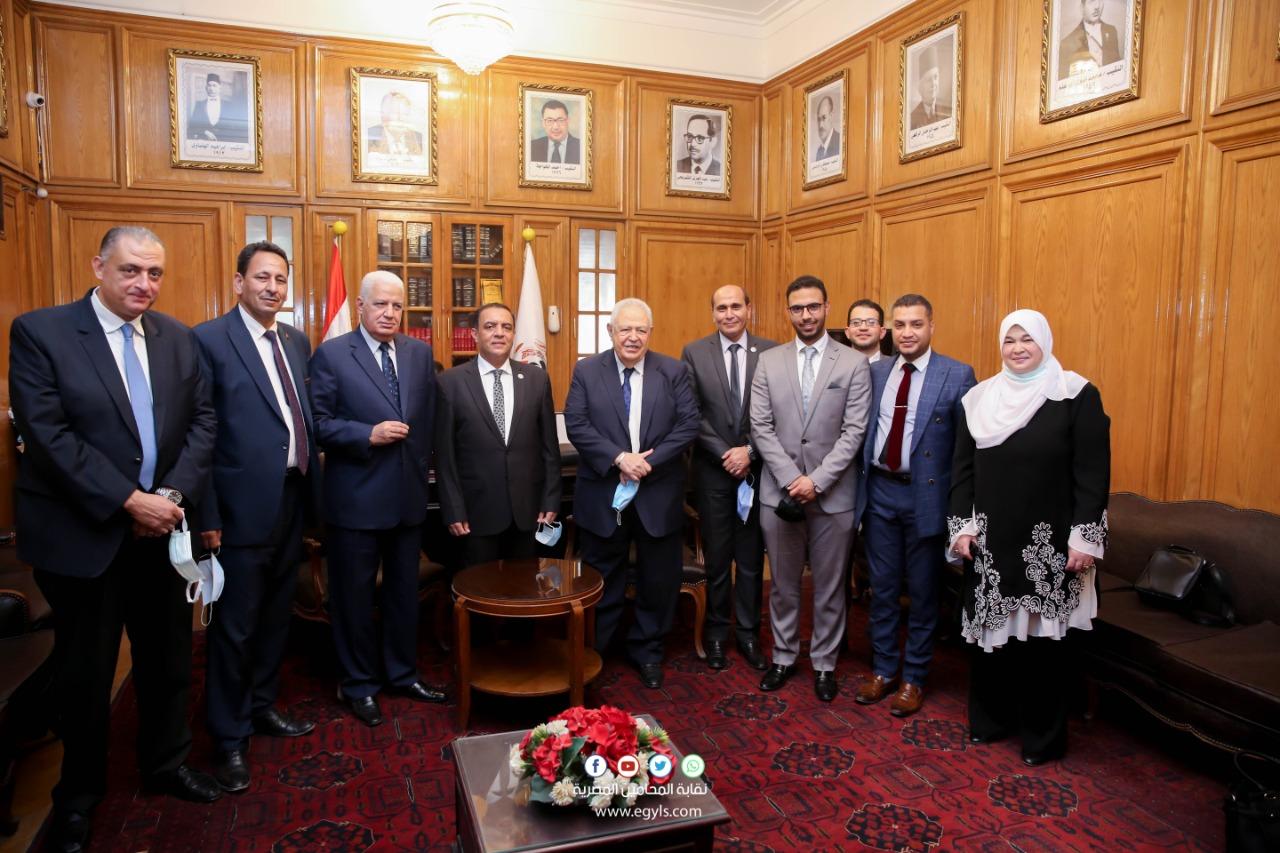 بروتوكول تعاون بين نقابة المحامين والمطابع الأميرية