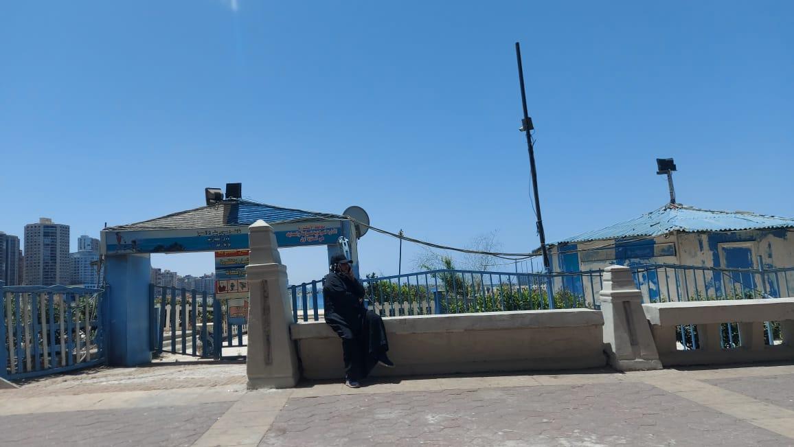 أغلاق شواطئ الإسكندرية