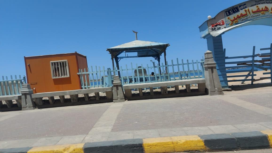 الشاطئ مغلق بالاسكندرية