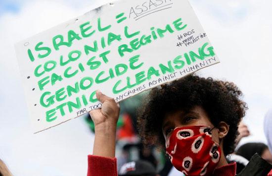 يهود يشاركون في تظاهرات ببلجيكا (3)