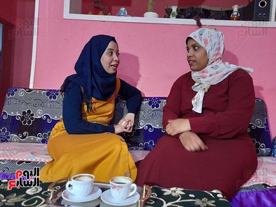 الزوجتان-معا-فى-منزل-واحد