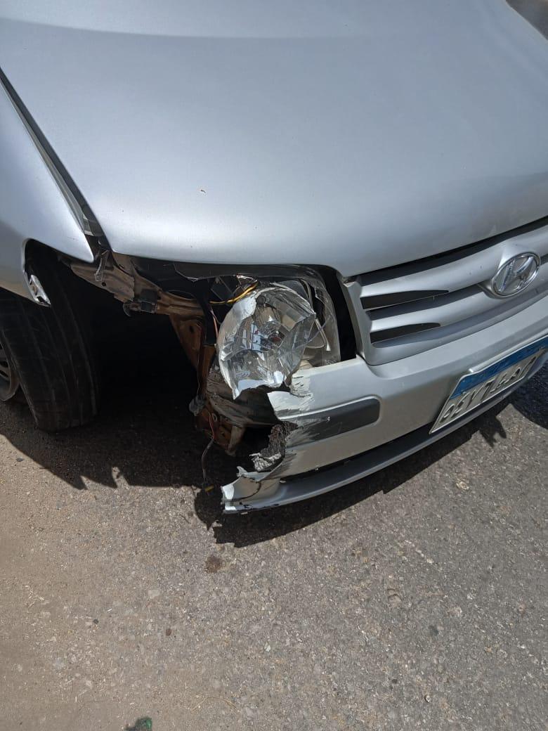 إحدى السيارات بالحادث