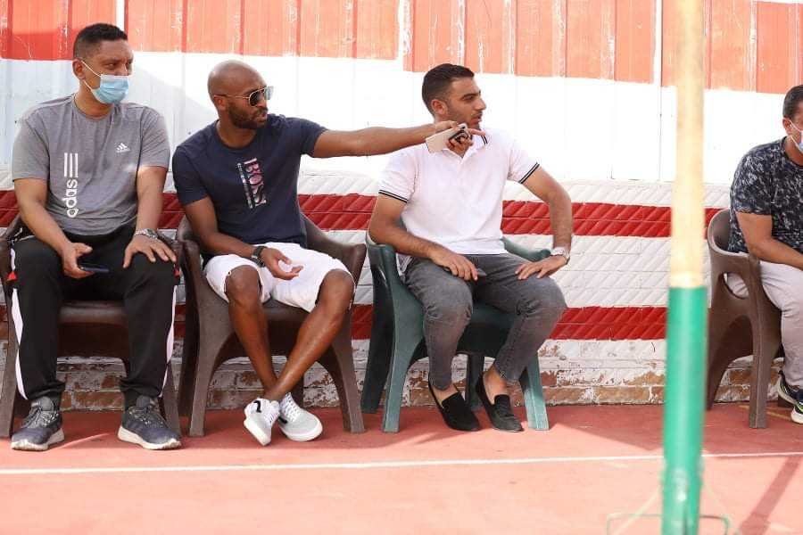 Shikabala supports the youth at the summit