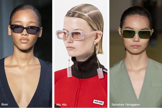 نظارات شمس مستطيلة