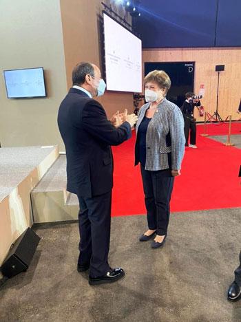 الرئيس عبد الفتاح السيسي مع زعماء أفريقيا علي هامش القمة بباريس (3)
