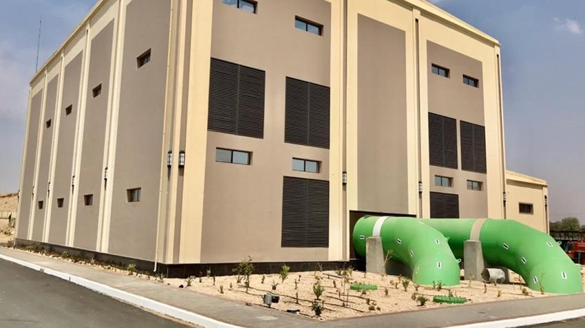 محطة معالجة مياه مصرف المحسمة بسرابيوم (3)