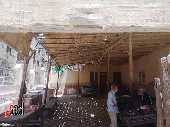 أقدم سوق بالمنيا