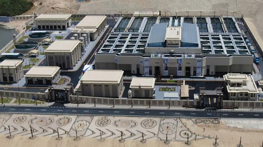 محطة معالجة مياه مصرف المحسمة بسرابيوم (5)