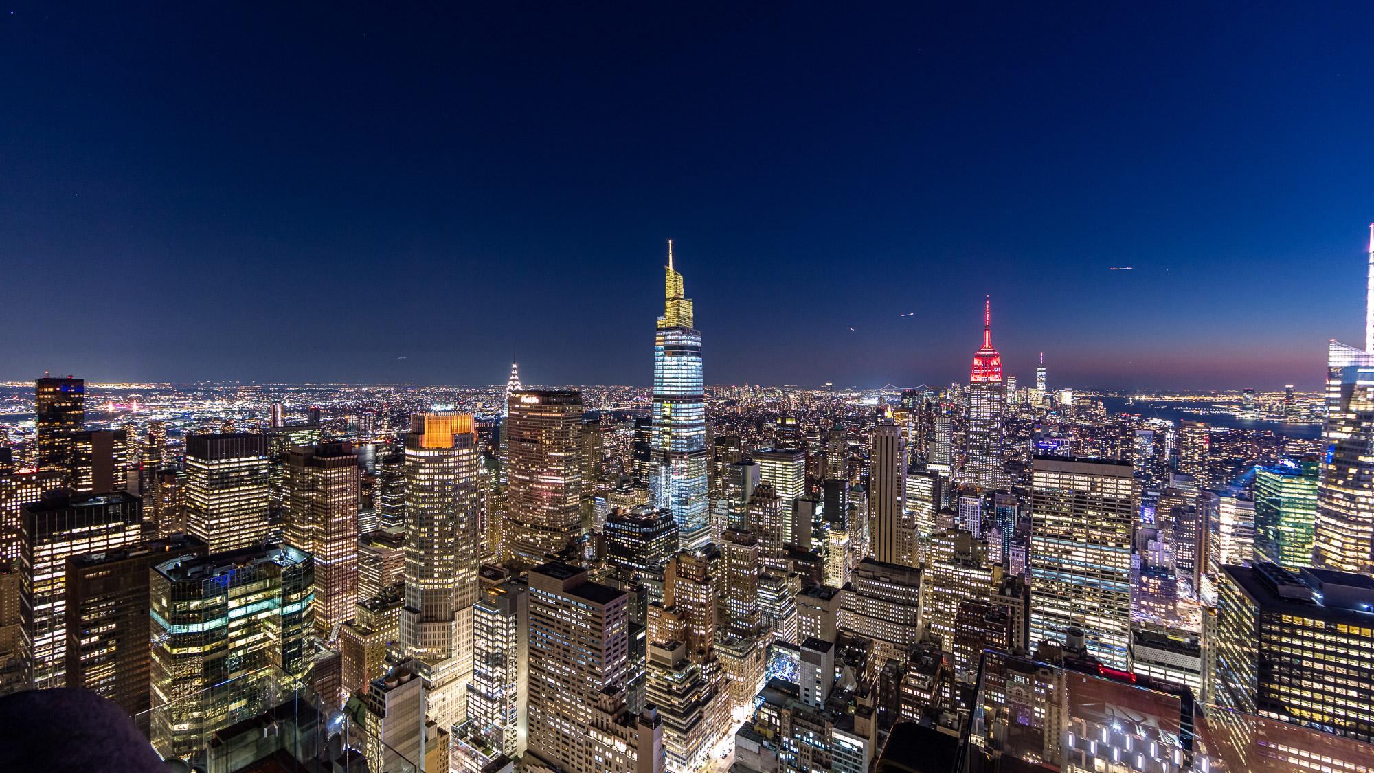 ناطحات السحاب فى مدينة نيويورك