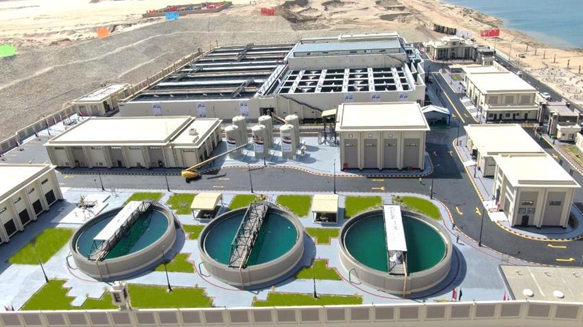 محطة معالجة مياه مصرف المحسمة بسرابيوم (2)