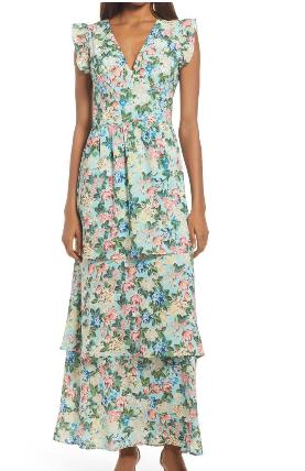 الفساتين الفلورى
