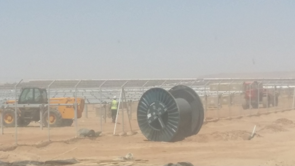 مشروع الطاقة الشمسية بنبان بأسوان (3)