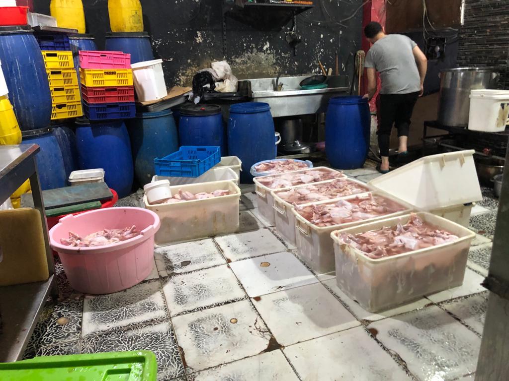 اللحوم المضبوطة