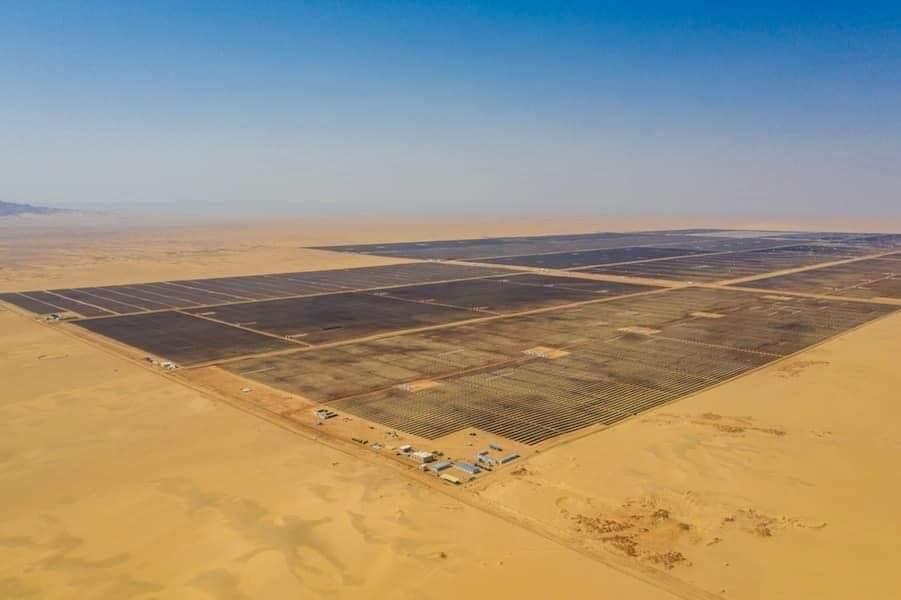مشروع الطاقة الشمسية بنبان بأسوان (2)
