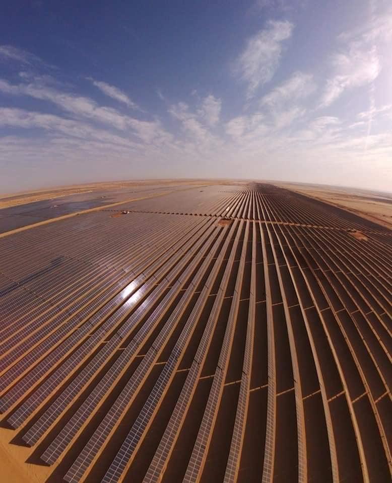 مشروع الطاقة الشمسية بنبان بأسوان (10)