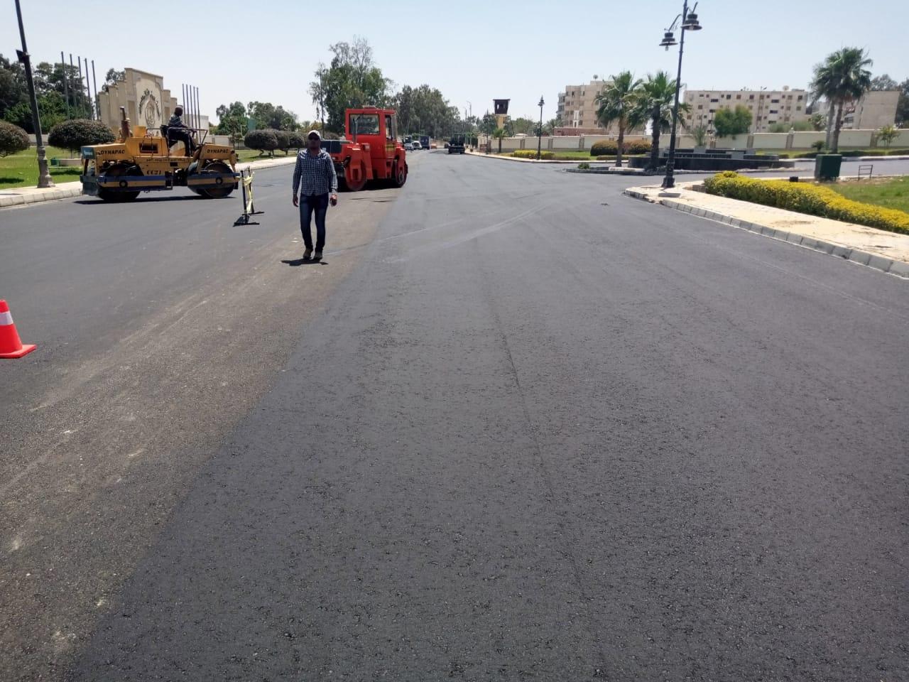 رصف شوارع الإسماعيلية (3)