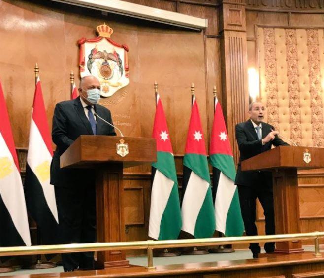 وزير الخارجية ونظيره الأردني