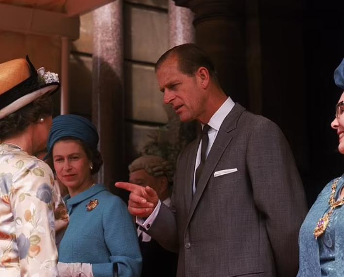 الأمير الراحل فيليب والملكة اليزابيث
