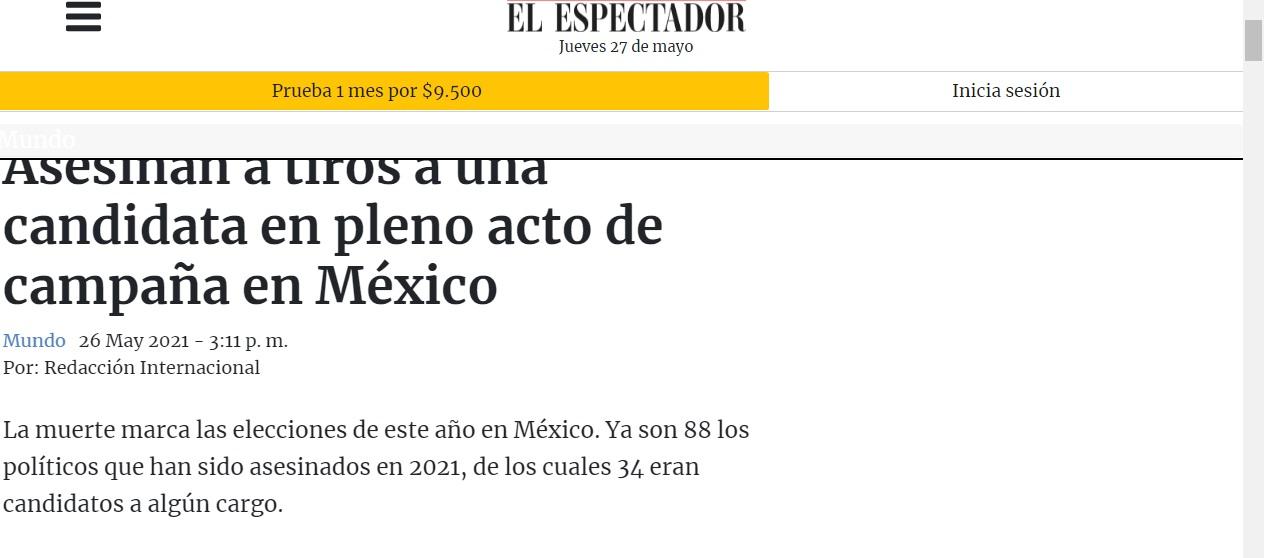 صحيفة مكسيكية الانتخابات