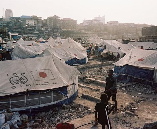 مخيم في سيراليون