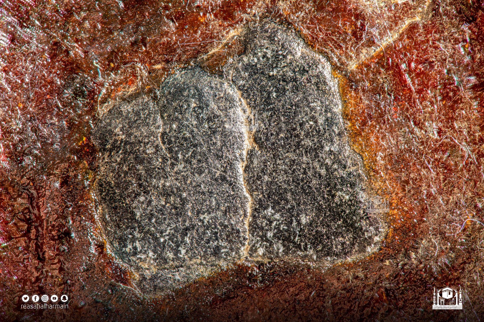 الصورة النهائية للحجر الاسود بتقنية فوكس  ستارك بانوراما