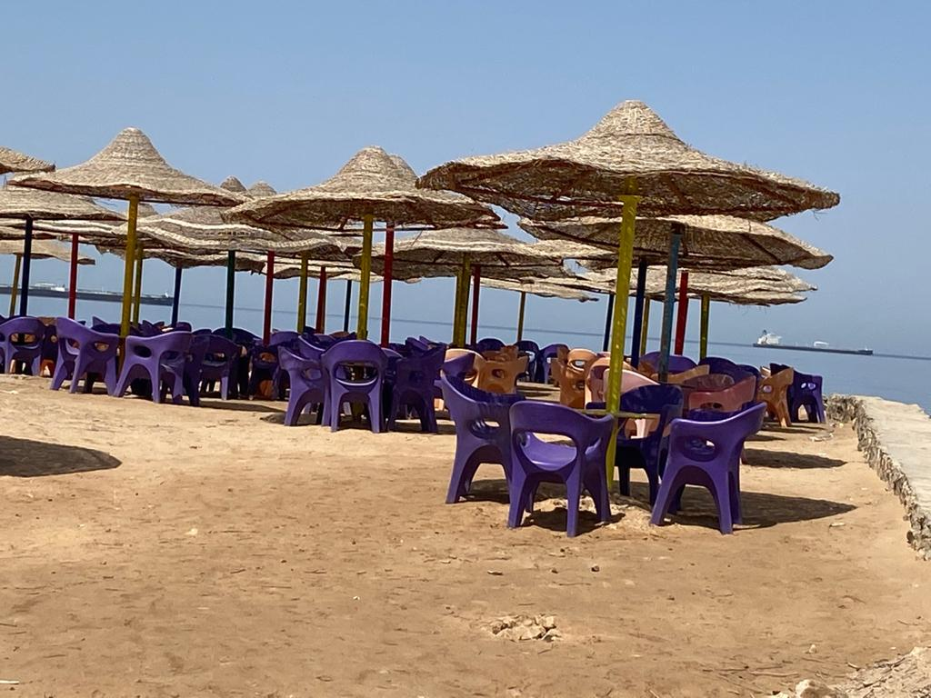 إغلاق شواطئ السويس في شم النسيم (1)