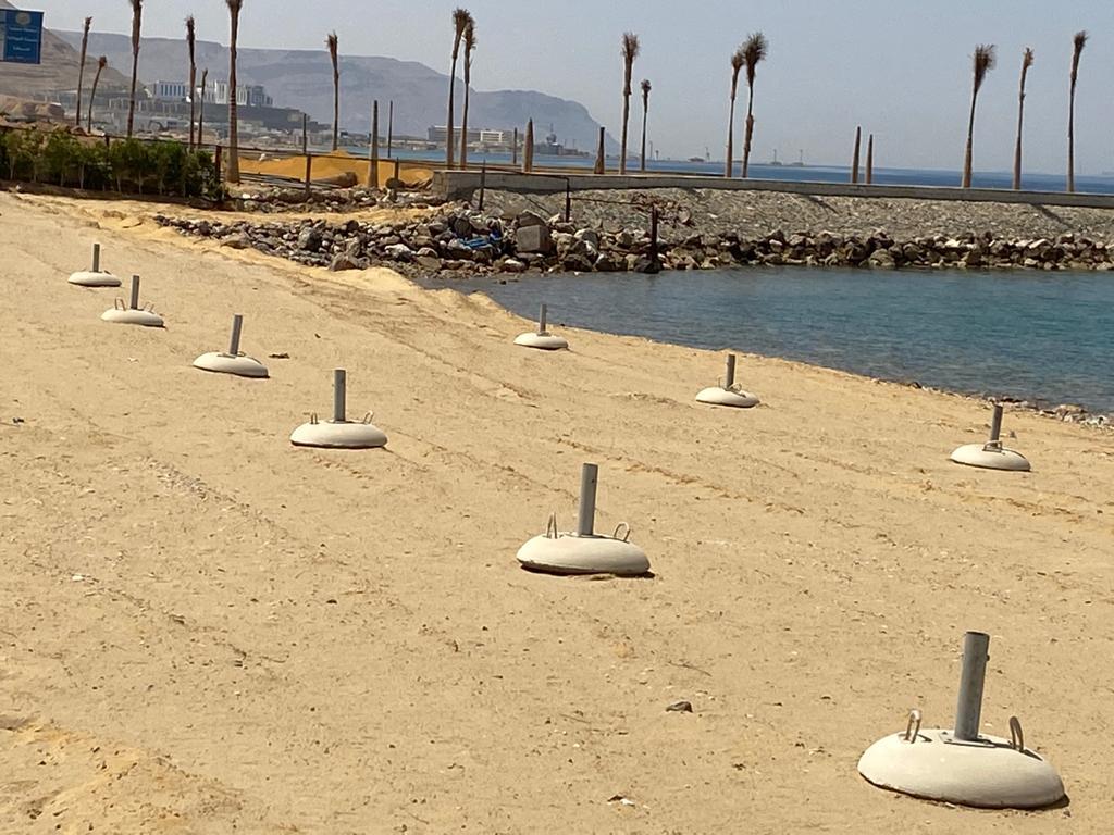 إغلاق شواطئ السويس في شم النسيم (2)