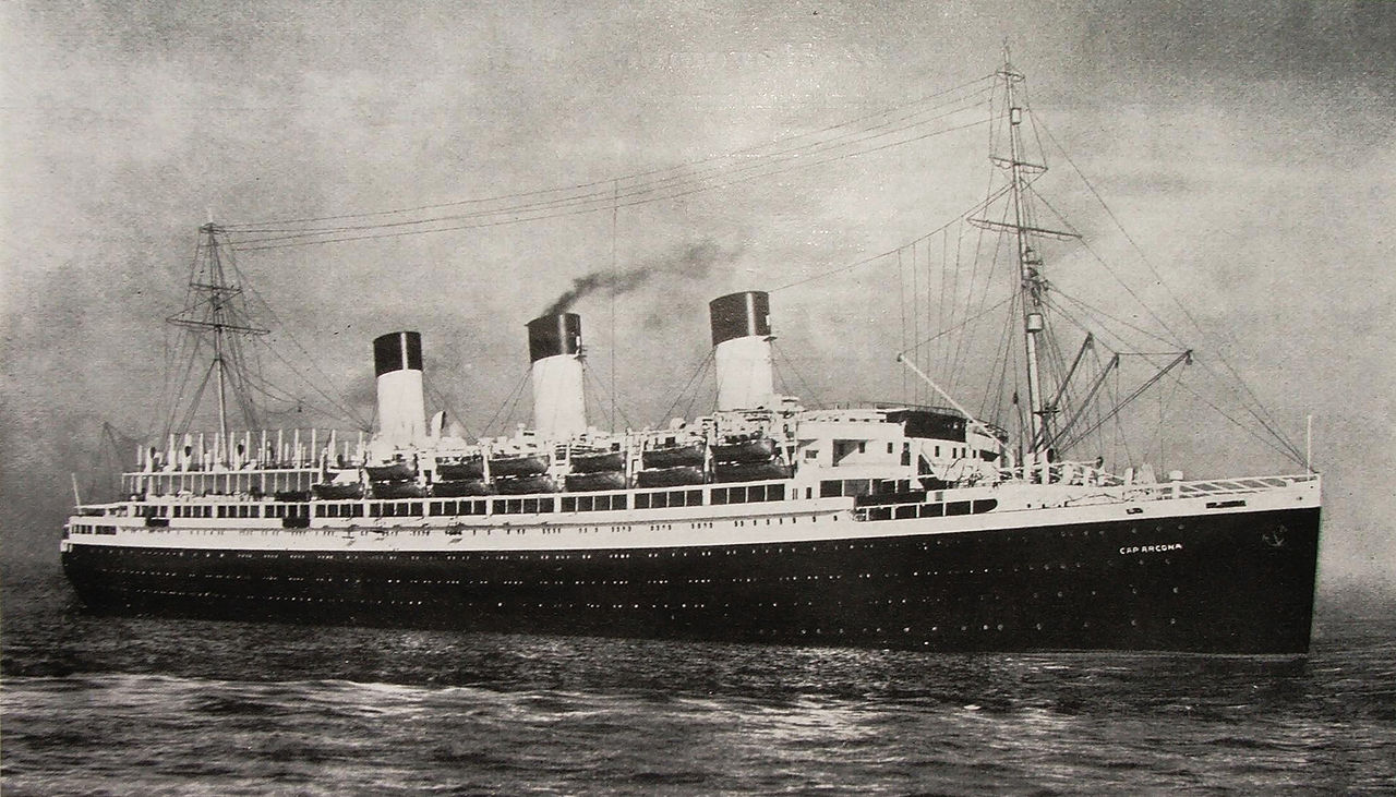 كاب أركونا فى صورة تعود لـ سنة 1927
