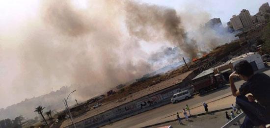 حريق في شركة النحاس المصرية بالإسكندرية