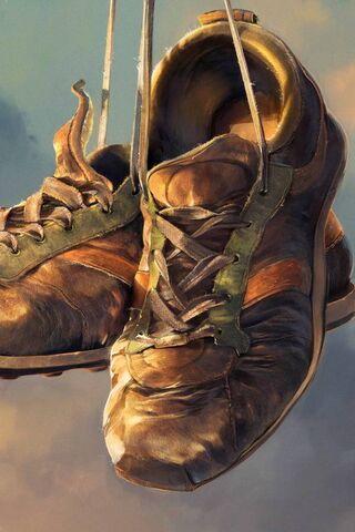 حذاء قديم