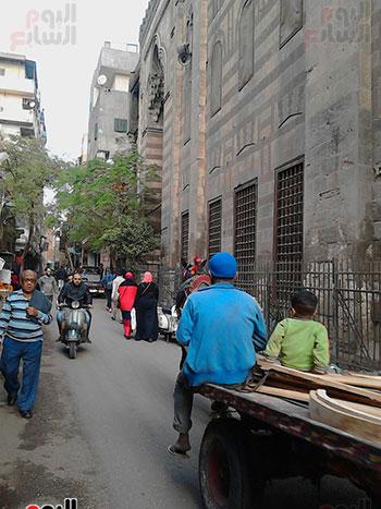 جانب من الشارع