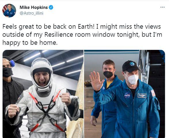 مايك هوبكنز على تويتر