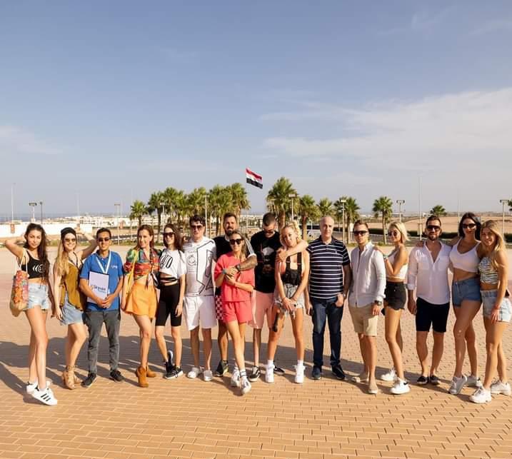 مدونو كرواتيا وصربيا فى رحلة سفارى بشرم الشيخ (2)