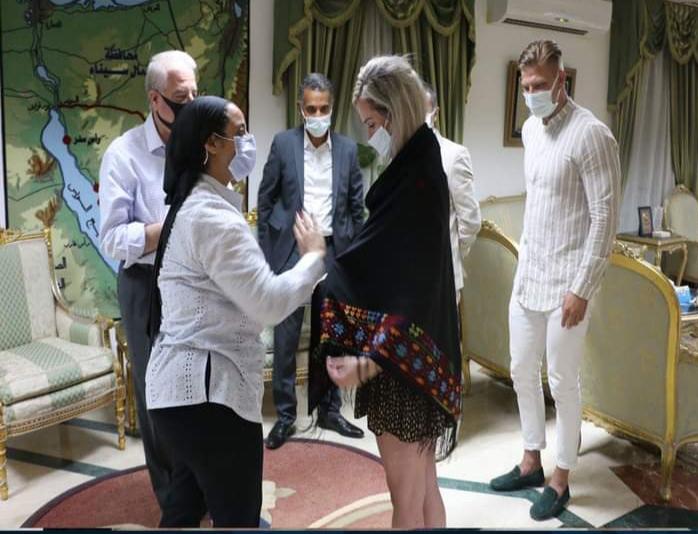 مدونو كرواتيا وصربيا فى رحلة سفارى بشرم الشيخ (6)