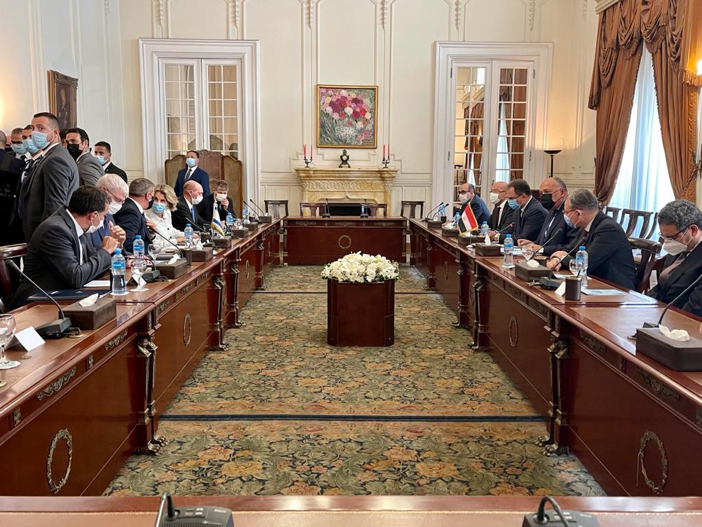 جلسة مباحثات رسمية بين وزيرى خارجية مصر وإسرائيل