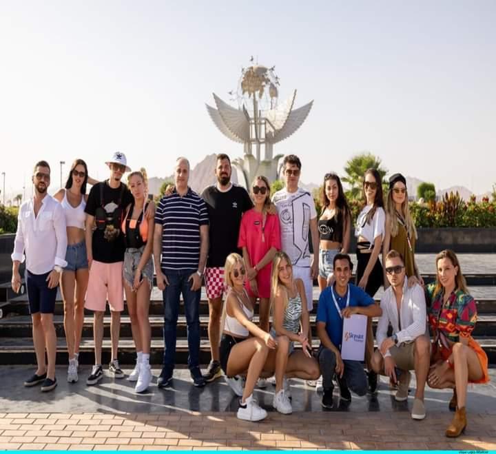 مدونو كرواتيا وصربيا فى رحلة سفارى بشرم الشيخ (3)