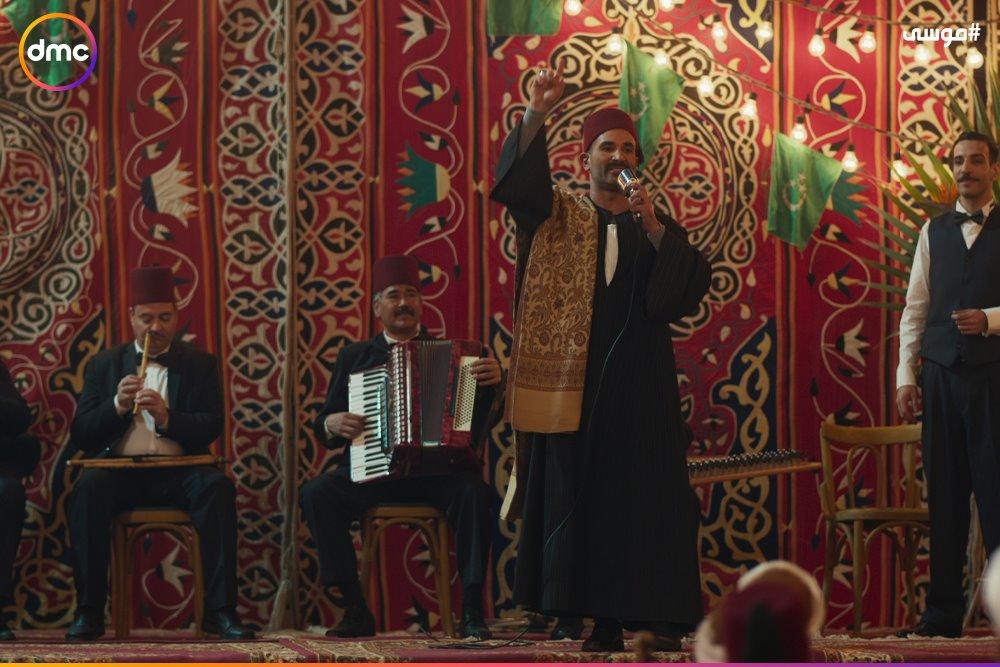 فرح محمد رمضان وسمية الخشاب فى مسلسل موسى (5)