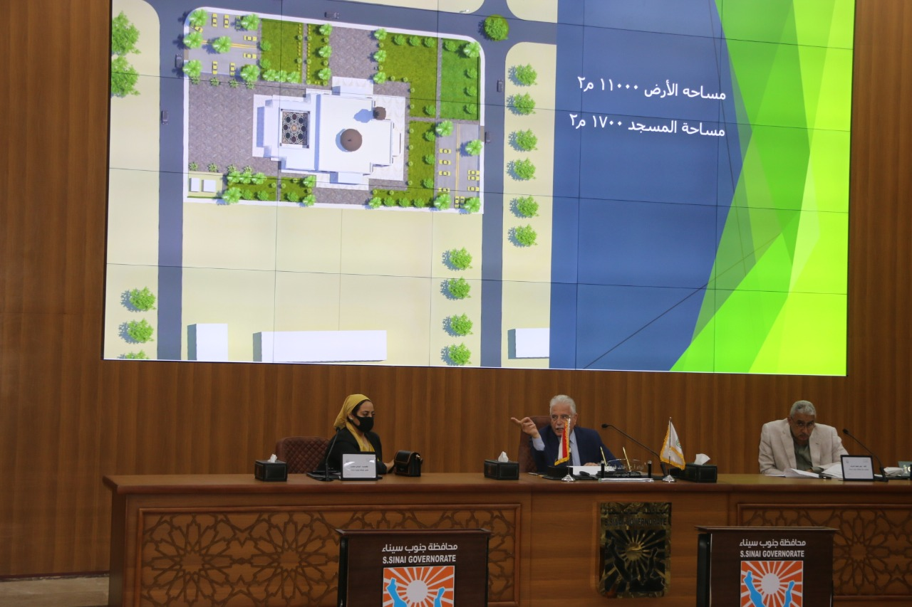 جلسة المجلس التنفيذى بمحافظة جنوب سيناء (4)