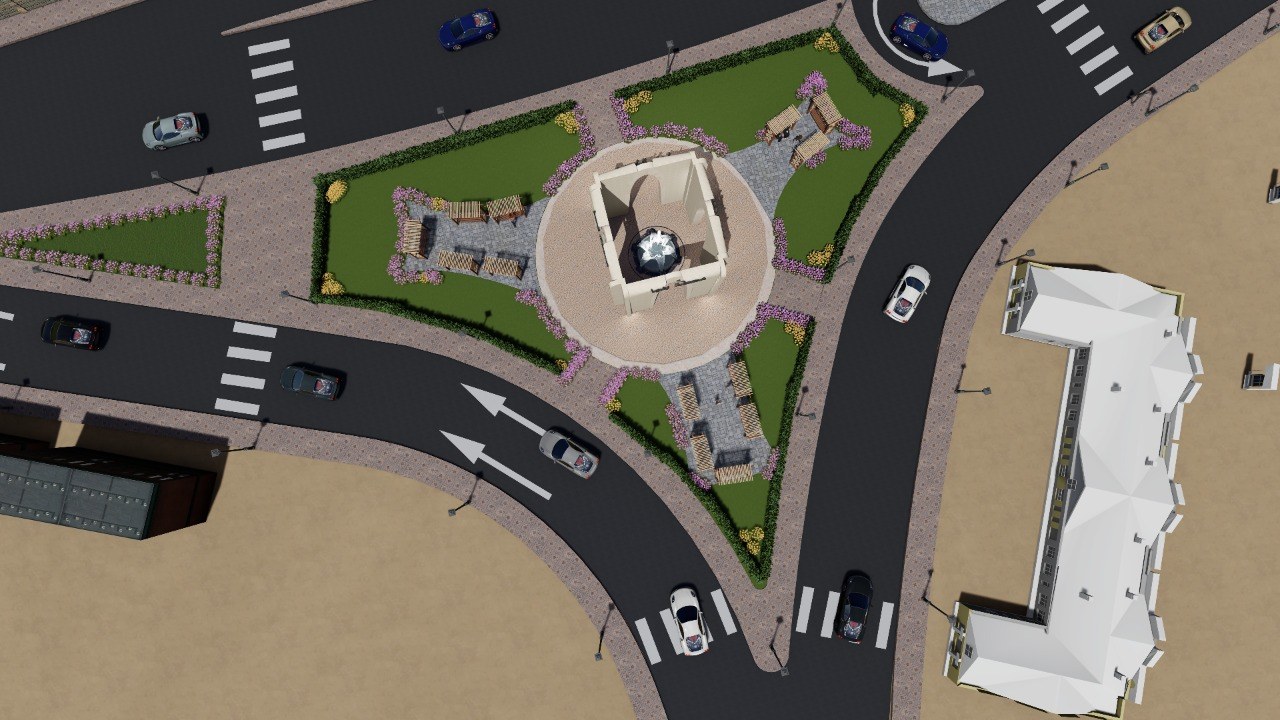 مخطط تطوير ميدان المحطة ببنها