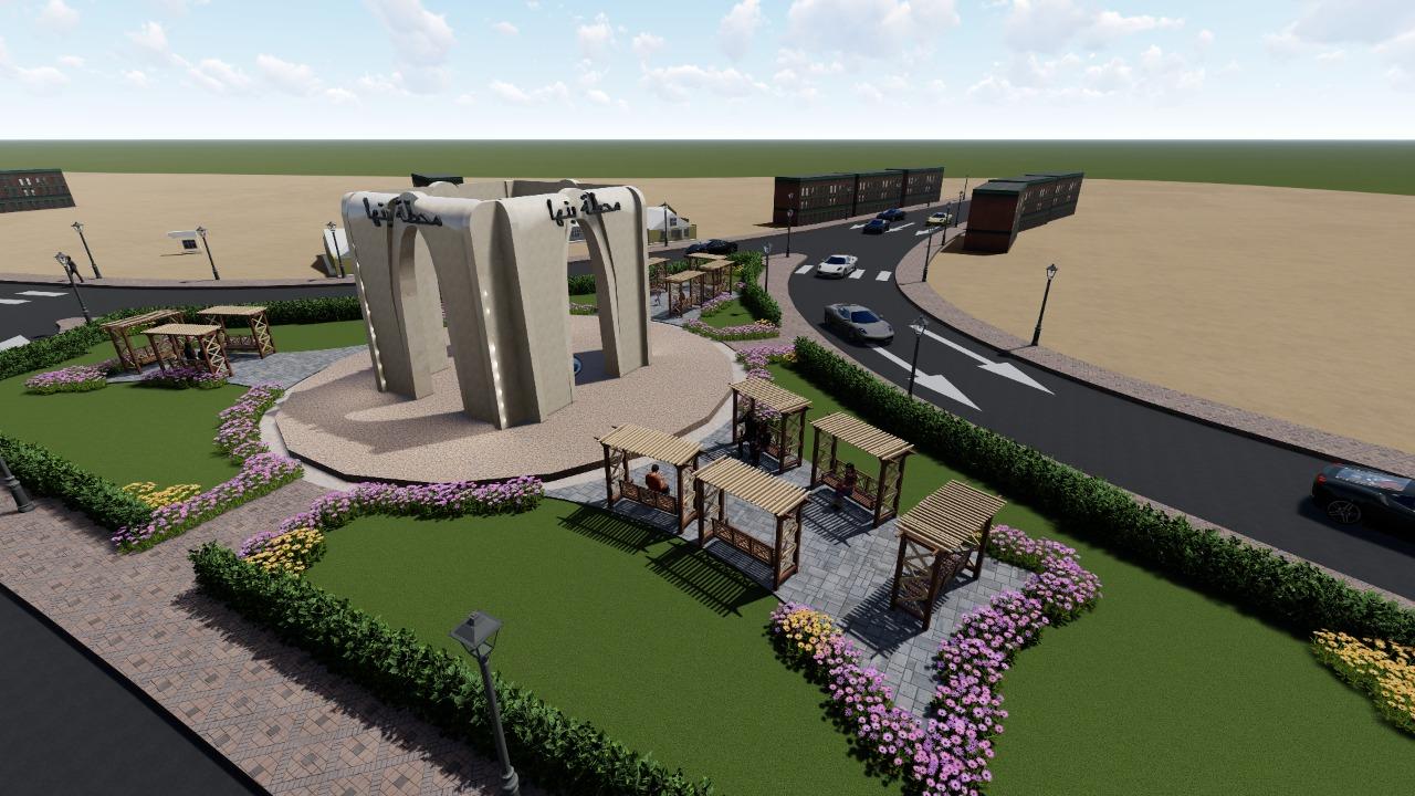المخطط المقترح لتطوير ميدان المحطة ببنها