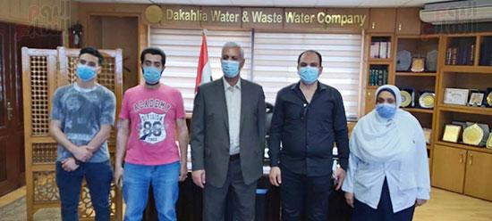 قيادات شركة مياه الشرب