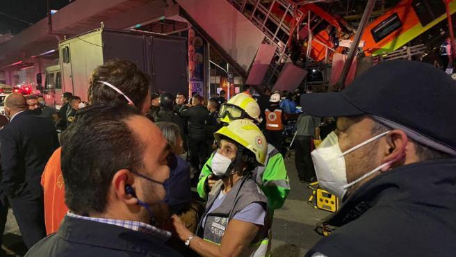 حاد مترو انفاق المكسيك