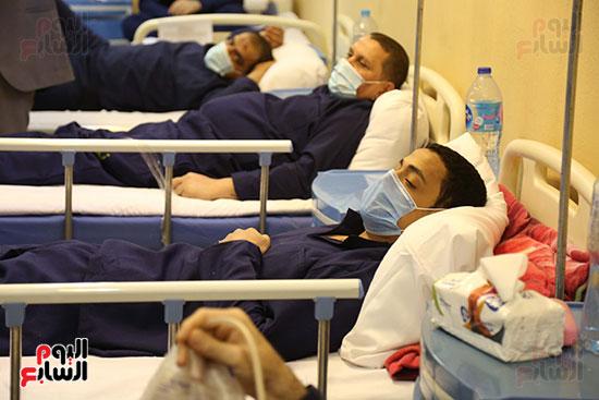 المرضى في مستشفى ليمان 440