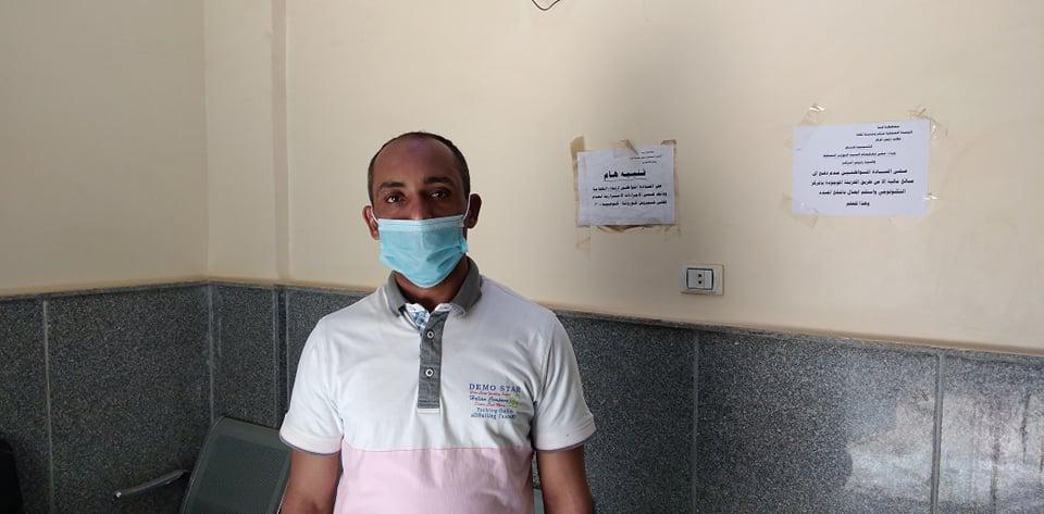 المهندس ياسر أحمد رئيس المدينة