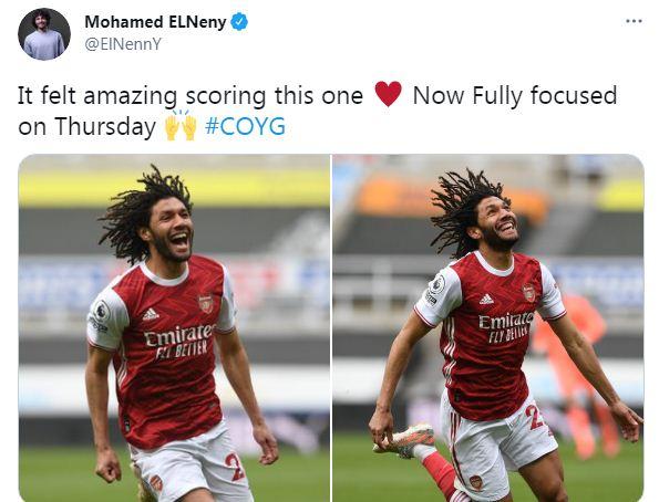 محمد الننى على تويتر
