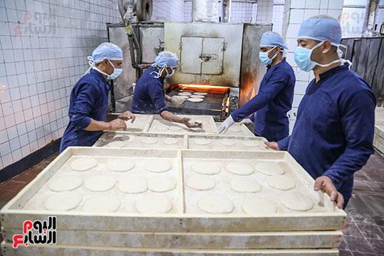 إعداد الخبز داخل السجون