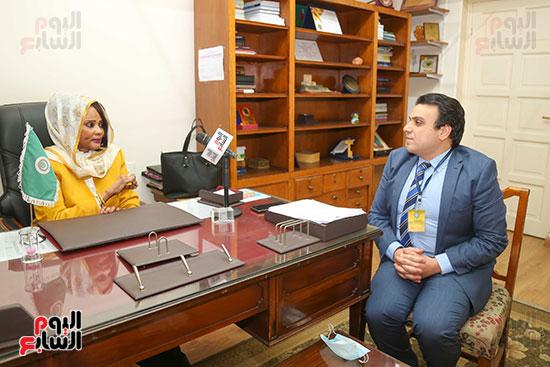 مها بخيت مدير الملكية الفكرية بـالجامعة العربية (1)